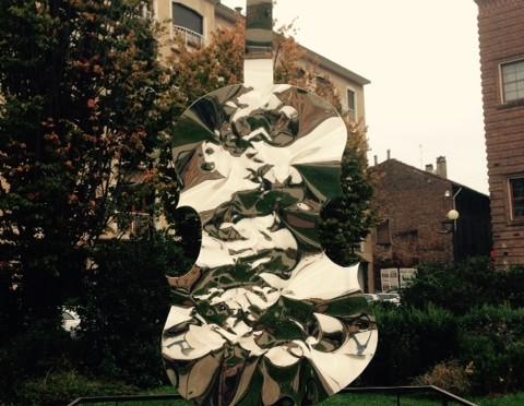 クレモナ ヴァイオリンの彫刻