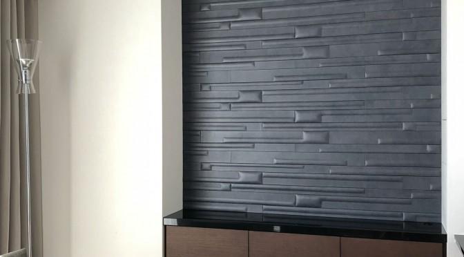 "studioart leather wall ストゥディオアート レザーウォール ""WOODS"" Urban grey"
