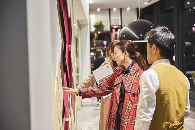 studioart leather wall ストゥディオアート レザーウォール SOMA DESIGN SOMARTA GEO SCAPE B&B Italia Tokyo