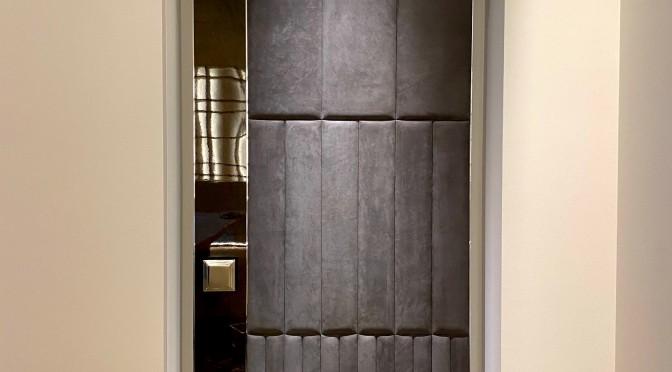studioart レザーウォール ヌバックレザー ドア カスタムデザイン